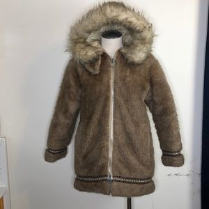 Incredible Vintage Stearns faux fur Eskimo Parka
